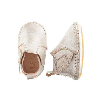 crewcuts Baby Easy Peasy Bomok Leather Booties