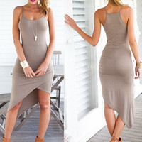 TIGHT IRREGULAR DRESS