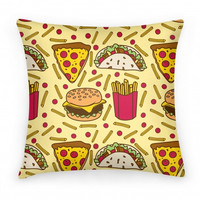 JUNK FOOD PILLOW