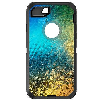 DistinctInk™ OtterBox Defender Series Case for Apple iPhone or Samsung Galaxy - Colorful Rainbow Waterfall