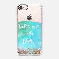 Take me to the sea iPhone 7 Capa by Li Zamperini Art | Casetify