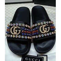 Gucci men and women Fashion Slippers