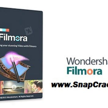 Wondershare Filmora Crack 6.8.2 Patch & Key Full DownloadSnapCrack