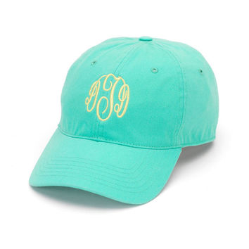 Ladies Monogrammed Hat