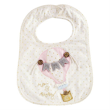 MUD PIE UNICORN & HOT AIR BALLOON BIBS