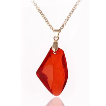 Red Acrylic Pendant