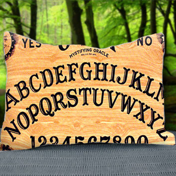 "Scary Ouija Board Custom Pillow Case 30"" x 20"""