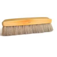 Vintage Clothes Brush, Celluloid with Natural Bristles, Yellow Amber Color, Made in France, Wardrobe Brush, Bedroom Vanity Mid Century