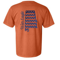 Comfort Colors Auburn Glitter Shirt - Orange