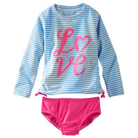 2-Piece Love Rashguard Set