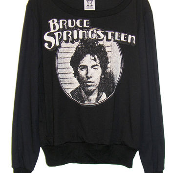 Vintage Bruce Springsteen Darkness On The Edge Of Town Jumper