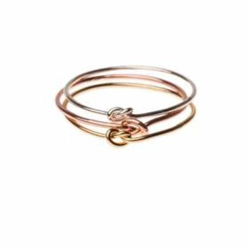**Love Me Knot Multi Ring by Orelia - Mixed Metal