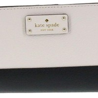 PEAPGQ6 Kate Spade New York Tellie Grove Street Embossed Leather Wallet