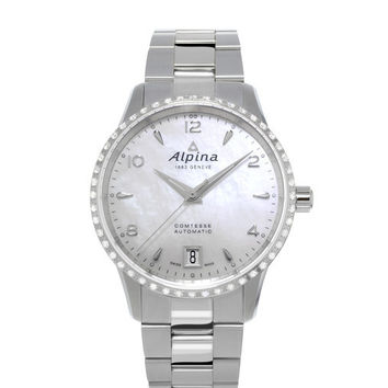 Alpina Comtesse Ladies Automatic Watch AL-525APW3CD6B