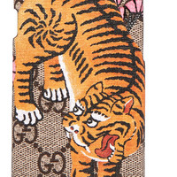 Gucci - Printed coated-canvas iPhone 6 case