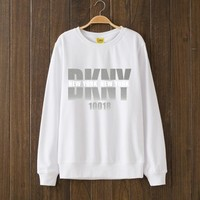 Dkny Fashion Casual Top Sweater Pullover