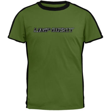 Limp Bizkit - Striper Green T-Shirt