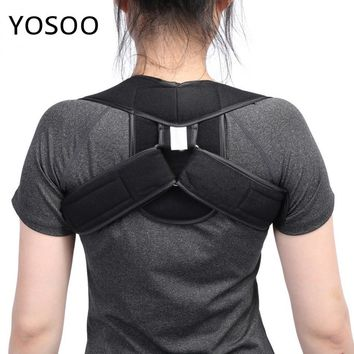 Adjustable Upper Back Shoulder Support Posture Corrector Adult Children Corset Spine Brace