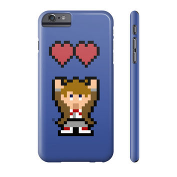 Doctor Who/Zelda Mashup Pixel Art Phone Case