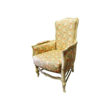 Pre-owned French Country Bergère Chair