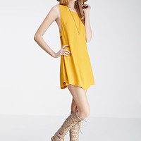 Cutout-Side Shift Dress