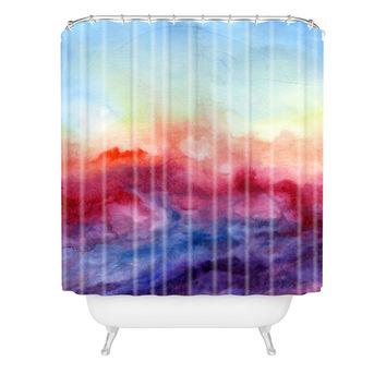 Jacqueline Maldonado Arpeggi Shower Curtain