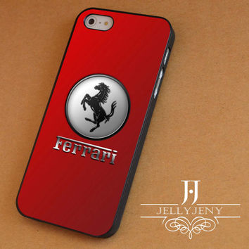 Ferrari red iPhone 4 Case 5 Case 5c Case 6 Plus Case, Samsung Galaxy S3 S4 S5 Note 3 4 Case, iPod 4 5 Case, HtC One M7 M8 and Nexus Case