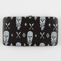 Dreamcatcher Arrow Hinged Wallet Black/White One Size For Women 26644212501