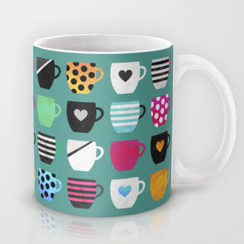 Coffee cup collection / 2 Mug by Elisabeth Fredriksson