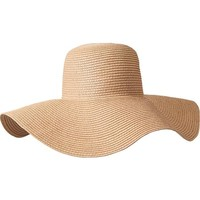 Women's Floppy Straw Sun Hats