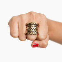 Woven Ring $7