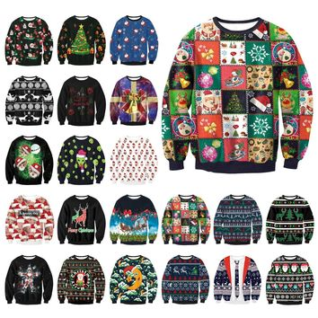 Men & Women UGLY CHRISTMAS SWEATER Collection