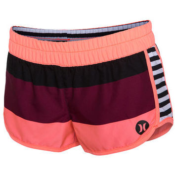 Women's Boardshorts - Hurley Supersuede Printed Beachrider - Black : D43e5842