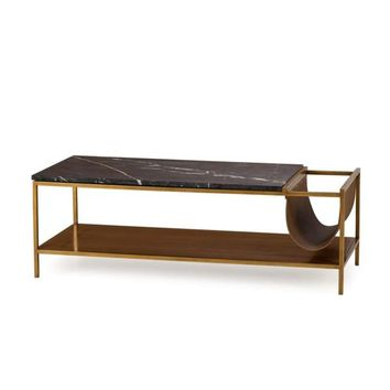 COSTES COFFEE TABLE WITH MAGAZINE RACK