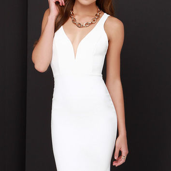 Gracefully Yours Ivory Dress