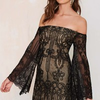Wanderer Lace Dress