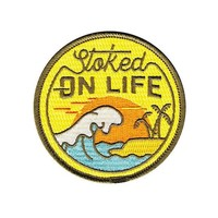 Stoked On Life Beach Patch