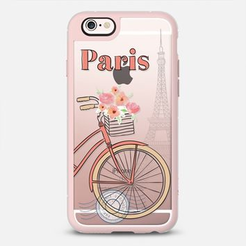 Bicycling in Paris iPhone 6s case by Sara Eshak | Casetify