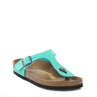 BIRKENSTOCK WOMENS GIZEH MINT SANDALS