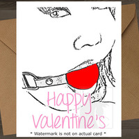 I Love Your Cock //Mature\\ Valentine Card Bondage Bdsm Valentines Day Card Funny Valentine Card Anniversary Card Fetish I Love You Card For