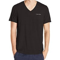 Calvin Klein Men's Liquid Luxe Short Sleeve V-Neck T-Shirt
