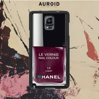 Chanel Nail Polish Vamp Samsung Galaxy Note 4 Case Auroid