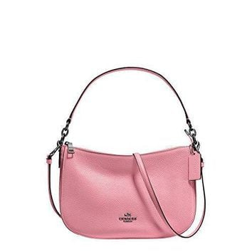 Coach Womens Pebbled Leather Chelsea Crossbody