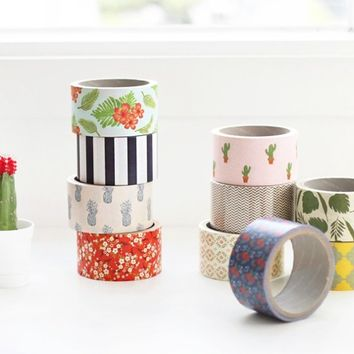 Pattern Paper Deco Tape
