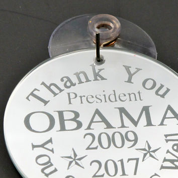 Thank you Obama Sun Catcher ornament Limited edition of 44