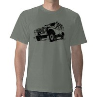 Land Rover Defender T-shirt from Zazzle.com