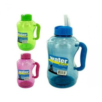 ONETOW 57 Oz Water Bottle With Flip Straw Assorted Colors