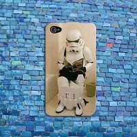 Funny Phone iPod Case Storm Trooper Toilet Cute Cover iPhone Star Wars Cool