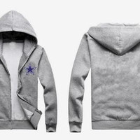 Dallas Cowboys Hoodie Grey