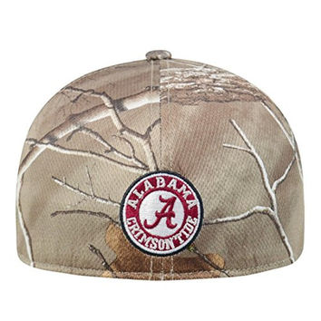 "Alabama Crimson Tide NCAA Top of the World ""Xtra"" RealTree Camo Memory Fit Hat"
